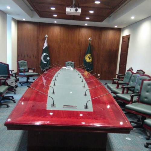 PROVISION OF DIGITAL EMBEDDED CONFERENCE SYSTEM AT MAYORS OFFICE ISLAMABAD